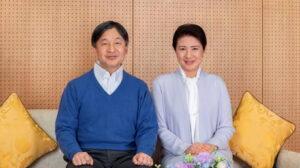 امبرطور اليابان والامبرطورة - المنتصف