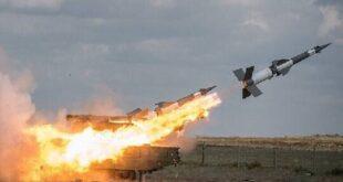 صاروخ روسي - المنتصف