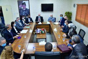 إسرائيل والأردن _ المنتصف